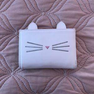 Forever 21 white cat ears wallet